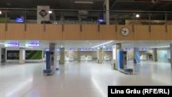 Aeroportul din Chișinău a fost închis, ca măsură de combatere a epidemiei de coronavirus pe perioada stării de urgență.
