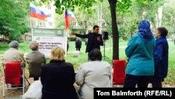Предвыборная встреча с избирателями в Костроме заместителя председателя ПАРНАСа Ильи Яшина