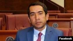 بشیر احمد ته ینج، سخنگوی حزب جنبش ملی