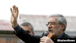 Mir Hossein Musavi has called for the June 12 vote to be annulled.