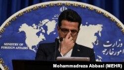 عباس موسوی، سخنگوی وزارت خارجه