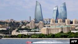 Ադրբեջան -- Բաքվի համայնապատկերը, արխիվ