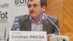 Eurodeputatul Cristian Preda în dialog cu Iolanda Bădiliță la Strasbourg