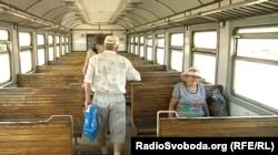 Електричка з Ясинуватої. Донецька область