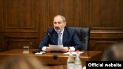 Премьер-министр Армении Никол Пашинян, 28 октября 2019 г.