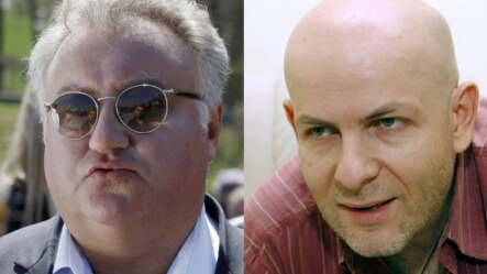Киевде атылган Олег Калашников жана Олесь Бузина