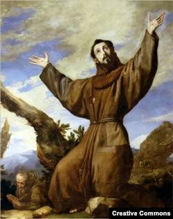 Сьв. Францішак. Хасэ дэ Рыбэра, алей, 1642