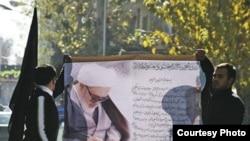 مراسم تشييع جنازه آيت الله منتظرى روز دوشنبه ساعت ۹ صبح از خانه او در شهر قم آغاز خواهد شد.