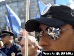 Protest policije u Beogradu, oktobar 2011.