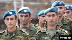 Военнослужащие армянской миротворческой бригады (архив)