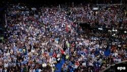 Pamje nga Konventa e Partisë Demokratike në Filadelfia