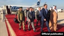 Евкуров в Катаре с официальным визитом