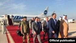 Евкуров прибыл в Катар с официальным визитом