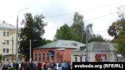 Стыхійны базар у Віцебску
