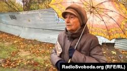 Жительница Луганска