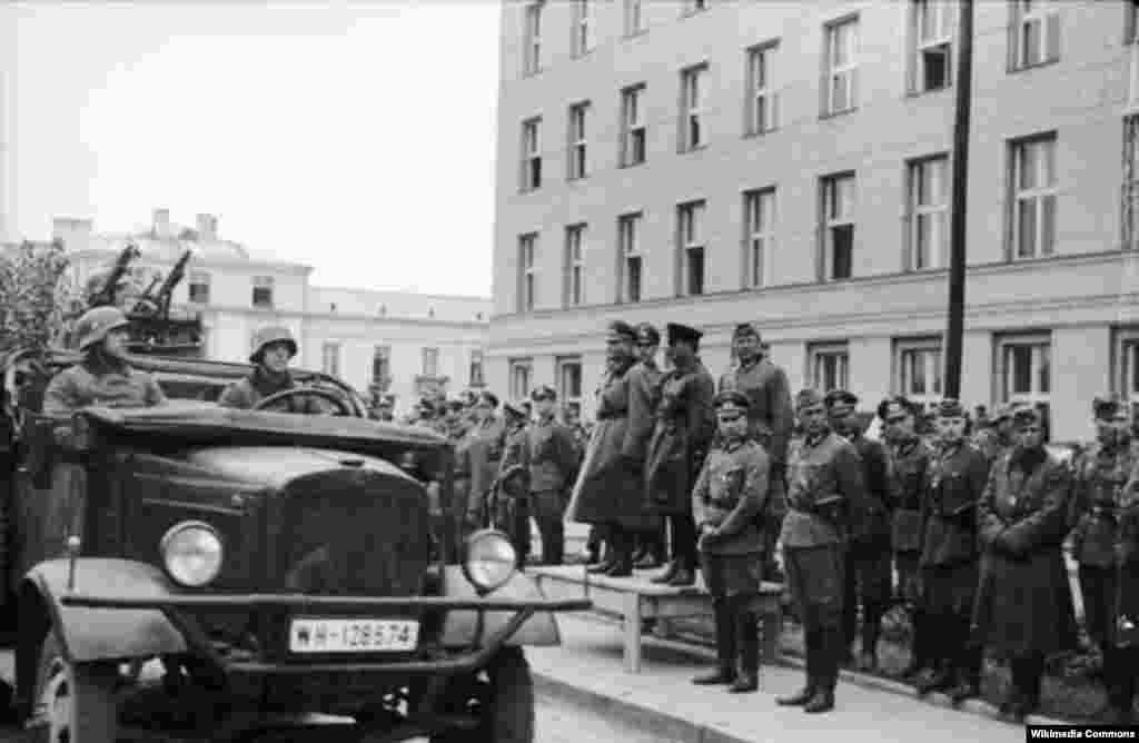 Радянсько-німецький парад у Бресті 22.09.1939