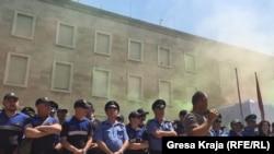 Protesta në Tiranë