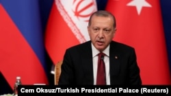 Presidenti i Turqisë, Receo Tayyip Erdogan.