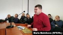 Айболат Букенов в суде. Уральск, 28 ноября 2019 года.