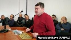 Kazakhstan - Blogger Aibolat Bukenov in the courtroom. Uralsk, 28Nov2019.