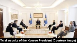 Hashim Thaci na sastanku sa ambasadorima zemalja Kvinte