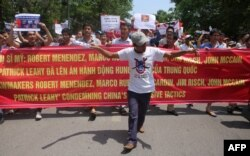 Массовые антикитайские протесты во Вьетнаме в 2014 году