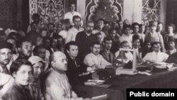 1920 елның 1-8 сентябрендә Бакуда үткәрелгән Беренче Шәрекъ халыклары корылтаенда катнашучылар