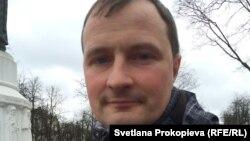 """Активист """"Голоса"""" Алексей Малов, один из авторов инициативы об отставке Цецерского"""