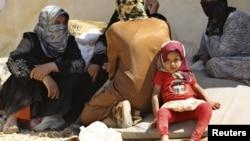 Сирийские беженцы. Иллюстративное фото.