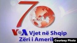 Logo për 70 vjetorin e Zërit të Amerikës në gjuhën shqipe