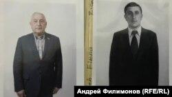 Николай Харитонов в 1977 и 2018 гг.