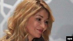 Дочь президента Узбекистана Ислама Каримова Гульнара.