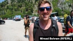 Shaun, turista iz Brisbejna, u Blagaju