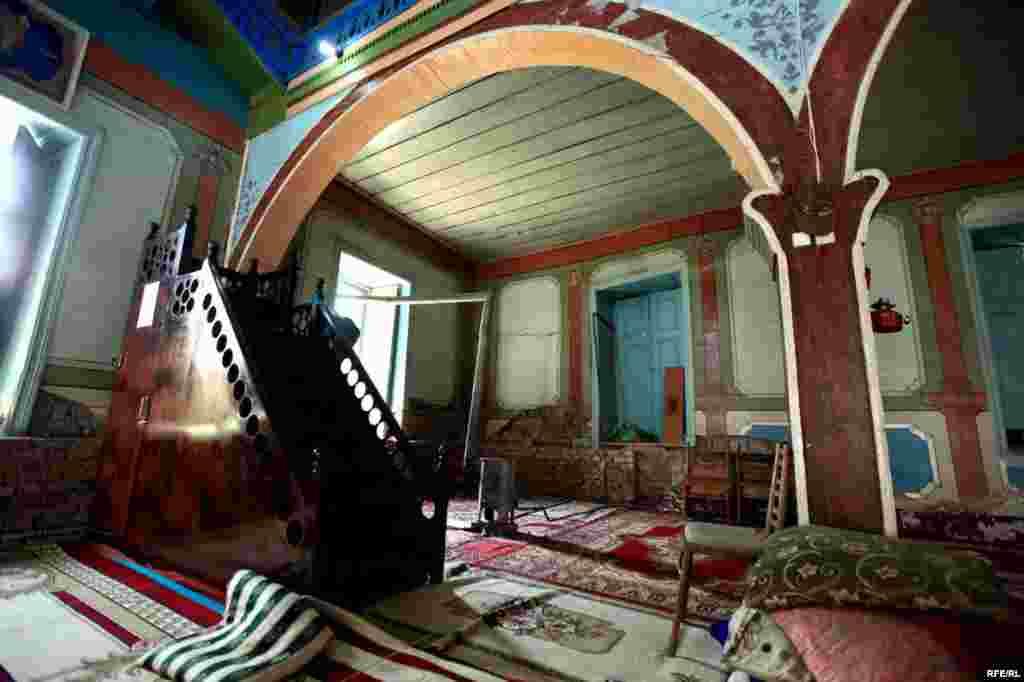 Qubanın Nüqədi kəndinin qədim məscidi #7