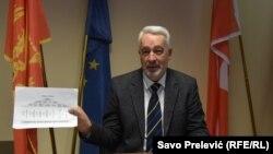 Krivokapić je predložio 12 kandidata za ministre, relativno nepoznatih široj crnogorskoj javnosti. Podgorica, 5 november 2020.