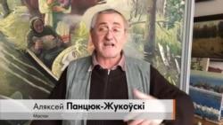 «Стрыжневая асоба ў нас адна», — мастак, які намаляваў трыптых з Лукашэнкамі, Машэравым і Міндоўгам