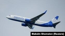 Русија-авион на белорускиот државен превозник Белавиа слетува на аеродромот Домодедово во близина на Москва, 28.02.2021