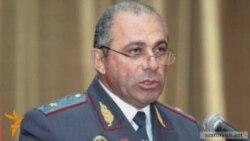 Ալիկ Սարգսյանն ազատվել է ոստիկանապետի պաշտոնից
