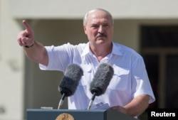 Alyaksandr Lukashenka (file photo)