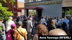 Перед оглашением приговора историку Юрию Дмитриеву