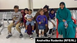 The family were detained at the Roj camp in Syria.