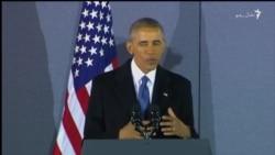 اوباما په مخه ښه کې د خپلو همکارانو او ملاتړو مننه وکړه
