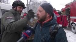 Напад на журналіста: правоохоронець застосував газовий балончик проти кореспондента Радіо Свобода