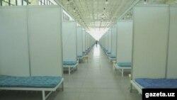 Центр для больных ковидом в «Узэкспоцентре» был закрыт в конце прошлого года.