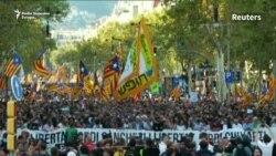 Skoro pola miliona ljudi na ulicama Barselone
