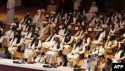 آرشیف، گفتوگوی میان افغانان در قطر