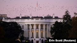 Casa Albă de la Washington, 8 noiembrie 2020