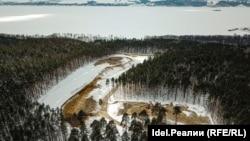 Ради М-12: в Лаишевском районе Татарстана идёт масштабная вырубка леса