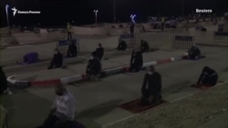 Из-за коронавируса мусульмане Яффы молятся на парковках