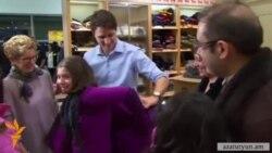 Կանադայի վարչապետը անձամբ ողջունեց սիրիահայ փախստականի ընտանիքին